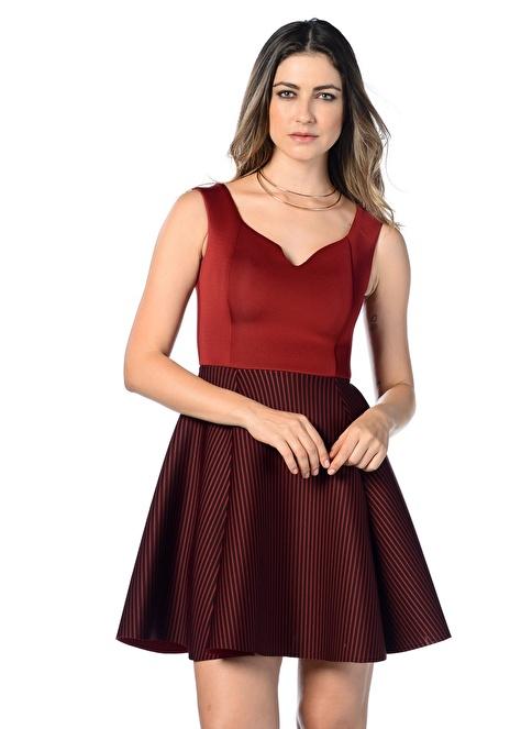 Dewberry Elbise Bordo